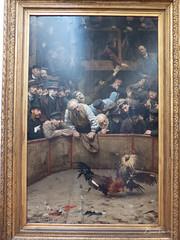 Combat de coqs en Flandre (bpmm) Tags: lapiscine roubaix rémycogghe art musée peinture