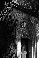 Village Church (ucn) Tags: zeissikondonata2277u agfarodinal tessar135cmf45 rollexpatent6x9cm ilfordhp5400 wittenau dorfkirche village church