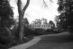 The ruins of Gräfsnäs castle (hjnship) Tags: gräfsnäs slott castle analog ilfordpanf panf kodakretinette1b ruin 135film 35mmfilm 45mmlens rodenstockreomar park