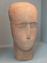 Tête d'homme (bpmm) Tags: lapiscine ossipzadkine roubaix art musée sculpture