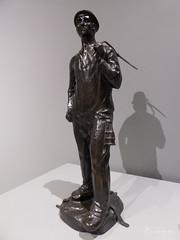 Mineur debout (bpmm) Tags: constantinmeunier lapiscine roubaix art musée sculpture