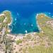 Ankerplatz an der Bucht Zogeria auf Spetses, Griechenland