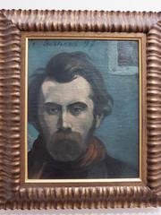 Emile Bernard : Autoportrait (bpmm) Tags: emilebernard lapiscine roubaix art musée peinture