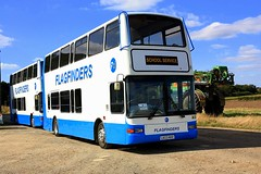 Tollesbury Outstation (Chris Baines) Tags: flagfinders outstation volvo b7tl plaxton presidents lk03 nhv lx03 nhg tollesbury essex