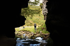 the photographer photographed (kokoschka's doll) Tags: cave crag gill darren ireshope weardale pennines