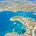 Hinitsa Beach facing Hinitsa islet, Greece