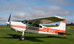 G-BDKC Cessna 185, Scone (wwshack) Tags: ce185 cessna cessna185 egpt psl perth perthkinross perthairport perthshire scone sconeairport scotland gbdkc