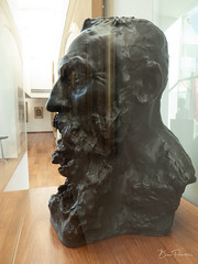 Buste d'Auguste Rodin (bpmm) Tags: camilleclaudel lapiscine roubaix art musée sculpture