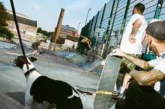 (Jodi Rogers.) Tags: streetphotography 35mm film skateboarding bristol