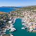 Old port on Spetses island, Greece