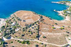 Ruinen auf der Insel Spetses, Griechenland