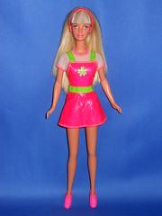 1997 Sticker Craze Barbie Doll (earinna) Tags: mattel barbie doll