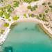Aerial view of Hinitsa Beach in Porto Heli, Greece