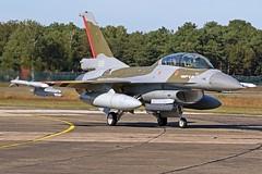 Royal Norwegian Airforce F-16BM 691 (Remco Boudewijn) Tags: general dynamics lockheed royal norwegian airforce norway f16bm f16 kleine brogel 2019