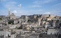 Altstadt - Kathedrale von Matera (Aeschbacher Hilde) Tags: italien apulien matera altstadt kathedralevonmatera