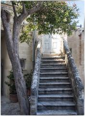 Matera (Aeschbacher Hilde) Tags: italien apulien matera treppe altstadt