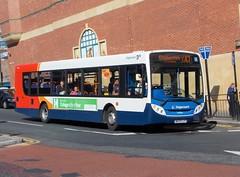 24104-NK09FLP_Newcastle_X47 (Northern Bus Photos) Tags: stagecoach stagecoachnortheast man18240 adlenviro300 alexanderdennis nk09flp 24104