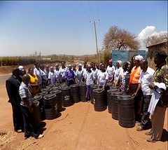 Kenya Tigania - Water & sanitation training (Growing Hope Globally) Tags: growing hope globally world renew ads mt kenya east humanitarian charity food security farmers men women children families drough drip irrigation mulching income tomatoes kale conservation agriculture