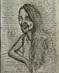 Irene... Dibujos rápidos en restos de papel. . . #portrait #drawing #art #draw #painting #retrato #blackandwhite #artist#dibujos #pencildrawing #sketch #flickr #pen  #artlovers#lapiz #painter#crayon  #artwork #artstagram #bw  #woman #bellezza #beautifulgi (egc2607) Tags: blackandwhite sketch disegno artwork lapiz retrato instagram tattoo art buongiorno bw artlovers flickr bellezza pencildrawing artist painter pen painting drawing hairstyle beautifulgirl dibujos portrait woman artstagram pencilart crayon buenosdias draw