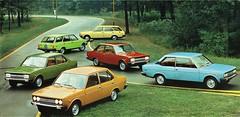 Fiat 131 Mirafiori (aldenjewell) Tags: fiat 131 mirafiori brochure german