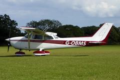 G-OBMS Reims Cessna F172N Skyhawk cn 1584 Sywell 01Sep19 (kerrydavidtaylor) Tags: orm sywellaerodrome egbk cessna172