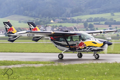 N991DM / Flying Bulls / Cessna 337D  Skymaster (Peter Reoch) Tags: n991dm flying bulls cessna 337d skymaster cessnaskymaster super push pull red bull redbullpush zeltweg airpower airpower19 austrian austria civil aviation aircraft