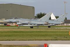3064 & 3074 (QSY on-route) Tags: 3064 3074 german air force eurofighter typhoon cobra warrior 2019 raf waddington wtn egxw 18092019
