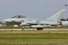3064 (QSY on-route) Tags: 3064 german air force eurofighter typhoon cobra warrior 2019 raf waddington wtn egxw 18092019