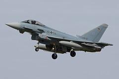 3056 (QSY on-route) Tags: 3056 german air force eurofighter typhoon cobra warrior 2019 raf waddington wtn egxw 18092019
