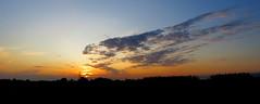 IMG_0006x (gzammarchi) Tags: italia paesaggio natura campagna ravenna borgomontone tramonto nuvola riflesso