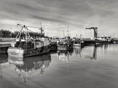 262/365 (Charlie Little) Tags: scotland dumfriesandgalloway stranraer fishing boats blackandwhite bw mono huawei p30pro leica cameraphone mobilephotography p365 project365