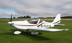 G-FLYO Eurostar, Scone (wwshack) Tags: egpt eurostar evector psl perth perthkinross perthairport perthshire scone sconeairport scotland gflyo
