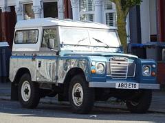 1984 Land Rover 88 (Neil's classics) Tags: 1984 land rover 88 landrover offroad wagon