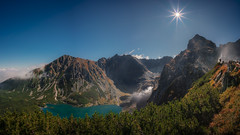 Czarny Staw Gasienicowy (tkjpics) Tags: sony a7r3 a7 a7riii alpha zeiss zeisslens loxia loxia2821 loxia21 mountains mirrorless mountainscape lakes lake sun sunstar panorama panoramic tatra tatry landscape landscapes