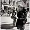 The Shooter in Marienplatz (FotoFling Scotland) Tags: camera flickr germany male marienplatz munich phone photograher shooter