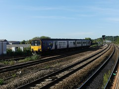 150125 Wakefield Kirkgate (Beer today, red wine tomorrow.....) Tags: class150 dmu northern