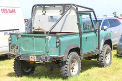Land Rover HJF 387N (SR Photos Torksey) Tags: land rover 4x4 transport vehicle road classic traffic