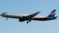 Aeroflot Airbus A321-211 VQ-BEA (StephenG88) Tags: londonheathrowairport heathrow lhr egll 27r 27l 9r 9l boeing airbus august26th2019 26819 myrtleavenue aeroflot аэрофло́т afl su a321 a321200 a321211 vqbea
