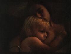 Motherhood (trom.pom) Tags: 35mm halfframe filmphotography motherhood ukraine kyiv motherandchild chaikaii chaika2 family