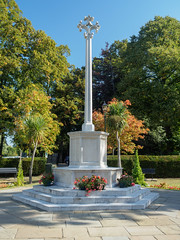 Farnham War Memorial-G9181979 (tony.rummery) Tags: autumn em10 farnham mft memorial microfourthirds omd olympus park surrey town war england unitedkingdom