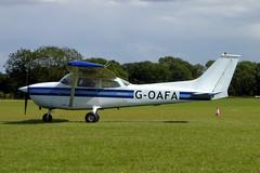 G-OAFA Reims Cessna F172M Skyhawk cn 1093 Sywell 01Sep19 (kerrydavidtaylor) Tags: orm sywellaerodrome egbk cessna172