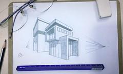 My new drawing of a house #2perspectivedrawing #loveart #art #enjoyingweekend #weekend (sezarcrysis360) Tags: 2perspectivedrawing loveart art enjoyingweekend weekend
