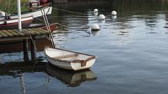 Das Boot und die Bojen (1elf12) Tags: boot boat germany deutschland boje buoy buoyant schleswig hafen ruderboot rowingboat harbour