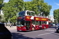 IMGP3630 (Steve Guess) Tags: hyde park corner london england gb uk open top topper topless sightseeing bus bigbus adl alexander dennis enviro 400 lj09oku