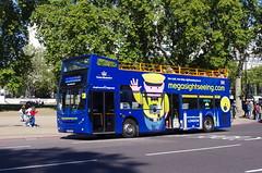 IMGP3628 (Steve Guess) Tags: hyde park corner london england gb uk open top topper topless sightseeing bus megabus enviro 400 adl alexander dennis