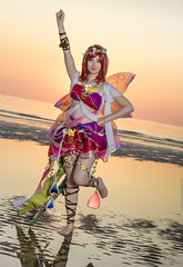 _MG_6541 (Mauro Petrolati) Tags: debora lolideb cosplay cosplayer idol maki nishikino fairy love live set alba sunrise spiaggia beach sea mare rimini comix 2019