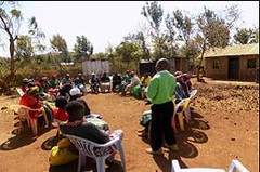 Kenya Tigania - Recruitment for Village Savings group (Growing Hope Globally) Tags: growing hope globally world renew ads mt kenya east humanitarian charity food security farmers men women children families drough drip irrigation mulching income tomatoes kale conservation agriculture