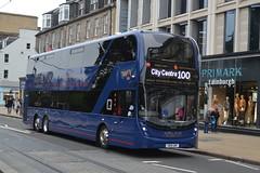 Lothian Buses Volvo B8L 1138 SB19GNF - Edinburgh (dwb transport photos) Tags: lothianbuses volvo alexander dennis enviro 400xlb bus decker 1138 sb19gnf airlink edinburgh