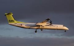 air Baltic, YL-BAQ, MSN 4313, De Havilland Canada DHC-8 402Q, 18.09.2019,  HAM-EDDH, Hamburg (henryk.konrad) Tags: airbaltic ylbaq msn4313 dehavillandcanada dhc8 dash8 hameddh hamburg henrykkonrad