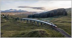 West Highland sunset freight (jbg06003) Tags: gbrf class 66 alumina whl freight scotrail scr